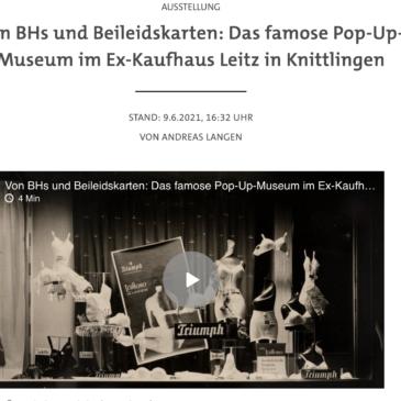 Pop Up Museum gestartet